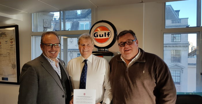 Gulf Oil International Partnership